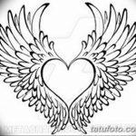 фото Эскизы тату Сердце от 20.06.2018 №088 - Sketches Tattoo Heart - tatufoto.com