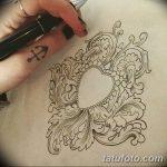 фото Эскизы тату Сердце от 20.06.2018 №089 - Sketches Tattoo Heart - tatufoto.com