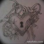 фото Эскизы тату Сердце от 20.06.2018 №090 - Sketches Tattoo Heart - tatufoto.com