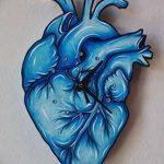 фото Эскизы тату Сердце от 20.06.2018 №095 - Sketches Tattoo Heart - tatufoto.com