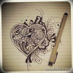 фото Эскизы тату Сердце от 20.06.2018 №096 - Sketches Tattoo Heart - tatufoto.com