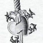 фото Эскизы тату Сердце от 20.06.2018 №097 - Sketches Tattoo Heart - tatufoto.com
