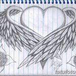 фото Эскизы тату Сердце от 20.06.2018 №099 - Sketches Tattoo Heart - tatufoto.com