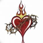 фото Эскизы тату Сердце от 20.06.2018 №101 - Sketches Tattoo Heart - tatufoto.com