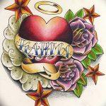 фото Эскизы тату Сердце от 20.06.2018 №102 - Sketches Tattoo Heart - tatufoto.com