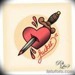 фото Эскизы тату Сердце от 20.06.2018 №106 - Sketches Tattoo Heart - tatufoto.com
