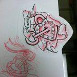 фото Эскизы тату Сердце от 20.06.2018 №107 - Sketches Tattoo Heart - tatufoto.com