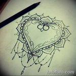 фото Эскизы тату Сердце от 20.06.2018 №109 - Sketches Tattoo Heart - tatufoto.com