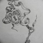 фото Эскизы тату Сердце от 20.06.2018 №113 - Sketches Tattoo Heart - tatufoto.com