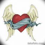 фото Эскизы тату Сердце от 20.06.2018 №115 - Sketches Tattoo Heart - tatufoto.com