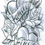 фото Эскизы тату Сердце от 20.06.2018 №118 - Sketches Tattoo Heart - tatufoto.com