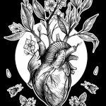 фото Эскизы тату Сердце от 20.06.2018 №122 - Sketches Tattoo Heart - tatufoto.com