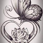 фото Эскизы тату Сердце от 20.06.2018 №128 - Sketches Tattoo Heart - tatufoto.com