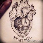 фото Эскизы тату Сердце от 20.06.2018 №130 - Sketches Tattoo Heart - tatufoto.com