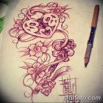 фото Эскизы тату Сердце от 20.06.2018 №132 - Sketches Tattoo Heart - tatufoto.com