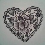 фото Эскизы тату Сердце от 20.06.2018 №134 - Sketches Tattoo Heart - tatufoto.com