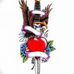 фото Эскизы тату Сердце от 20.06.2018 №138 - Sketches Tattoo Heart - tatufoto.com