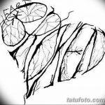 фото Эскизы тату Сердце от 20.06.2018 №142 - Sketches Tattoo Heart - tatufoto.com