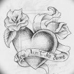 фото Эскизы тату Сердце от 20.06.2018 №143 - Sketches Tattoo Heart - tatufoto.com