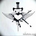 фото Эскизы тату Сердце от 20.06.2018 №144 - Sketches Tattoo Heart - tatufoto.com