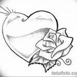 фото Эскизы тату Сердце от 20.06.2018 №145 - Sketches Tattoo Heart - tatufoto.com