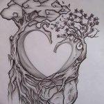 фото Эскизы тату Сердце от 20.06.2018 №148 - Sketches Tattoo Heart - tatufoto.com
