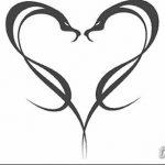 фото Эскизы тату Сердце от 20.06.2018 №153 - Sketches Tattoo Heart - tatufoto.com