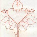 фото Эскизы тату Сердце от 20.06.2018 №155 - Sketches Tattoo Heart - tatufoto.com