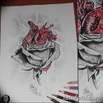 фото Эскизы тату Сердце от 20.06.2018 №157 - Sketches Tattoo Heart - tatufoto.com