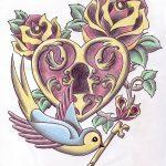 фото Эскизы тату Сердце от 20.06.2018 №162 - Sketches Tattoo Heart - tatufoto.com