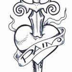 фото Эскизы тату Сердце от 20.06.2018 №164 - Sketches Tattoo Heart - tatufoto.com