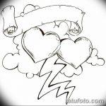 фото Эскизы тату Сердце от 20.06.2018 №165 - Sketches Tattoo Heart - tatufoto.com