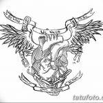 фото Эскизы тату Сердце от 20.06.2018 №166 - Sketches Tattoo Heart - tatufoto.com