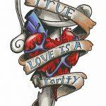 фото Эскизы тату Сердце от 20.06.2018 №168 - Sketches Tattoo Heart - tatufoto.com