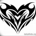 фото Эскизы тату Сердце от 20.06.2018 №172 - Sketches Tattoo Heart - tatufoto.com