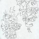 фото Эскизы тату Сердце от 20.06.2018 №173 - Sketches Tattoo Heart - tatufoto.com