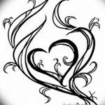 фото Эскизы тату Сердце от 20.06.2018 №178 - Sketches Tattoo Heart - tatufoto.com