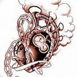 фото Эскизы тату Сердце от 20.06.2018 №179 - Sketches Tattoo Heart - tatufoto.com