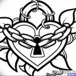 фото Эскизы тату Сердце от 20.06.2018 №180 - Sketches Tattoo Heart - tatufoto.com