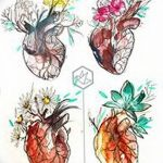 фото Эскизы тату Сердце от 20.06.2018 №181 - Sketches Tattoo Heart - tatufoto.com