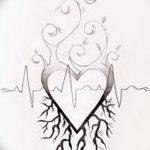фото Эскизы тату Сердце от 20.06.2018 №184 - Sketches Tattoo Heart - tatufoto.com