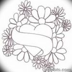 фото Эскизы тату Сердце от 20.06.2018 №192 - Sketches Tattoo Heart - tatufoto.com