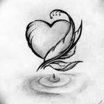 фото Эскизы тату Сердце от 20.06.2018 №194 - Sketches Tattoo Heart - tatufoto.com