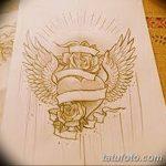 фото Эскизы тату Сердце от 20.06.2018 №195 - Sketches Tattoo Heart - tatufoto.com