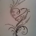 фото Эскизы тату Сердце от 20.06.2018 №196 - Sketches Tattoo Heart - tatufoto.com