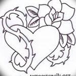 фото Эскизы тату Сердце от 20.06.2018 №197 - Sketches Tattoo Heart - tatufoto.com