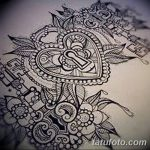 фото Эскизы тату Сердце от 20.06.2018 №199 - Sketches Tattoo Heart - tatufoto.com
