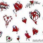 фото Эскизы тату Сердце от 20.06.2018 №200 - Sketches Tattoo Heart - tatufoto.com