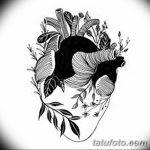 фото Эскизы тату Сердце от 20.06.2018 №206 - Sketches Tattoo Heart - tatufoto.com