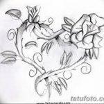 фото Эскизы тату Сердце от 20.06.2018 №210 - Sketches Tattoo Heart - tatufoto.com